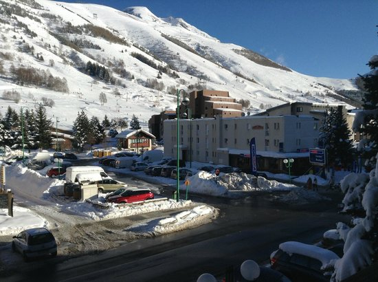 Brunerie Hotel: View from our room
