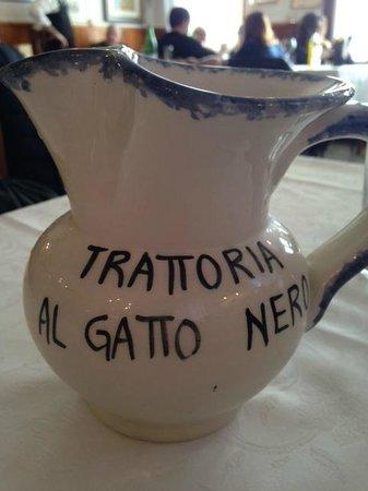 Al Gatto Nero Da Ruggero : House wine