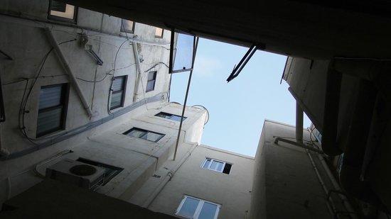 Europa Hotel: Vue de la chambre