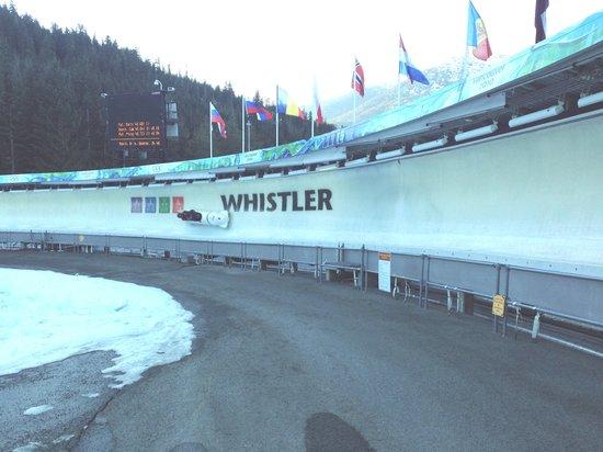 Whistler Sliding Centre: Thunderbird Corner