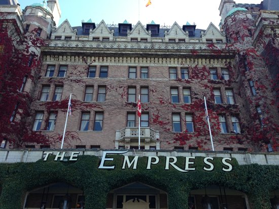 The Fairmont Empress: Out look of the Hotel