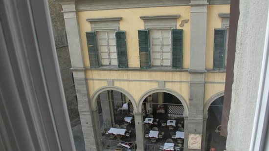 Cortona Suite: Vista da janela