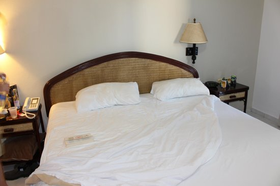 The Tropical at Lifestyle Holidays Vacation Resort : 2 standard sized hard pillows