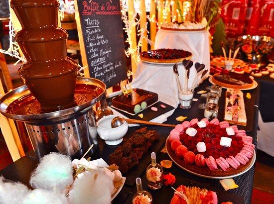 dessert buffet photo de chalet de la marine val thorens tripadvisor
