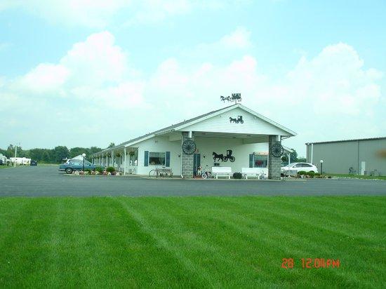 Der Ruhe Blatz Motel: Exterior