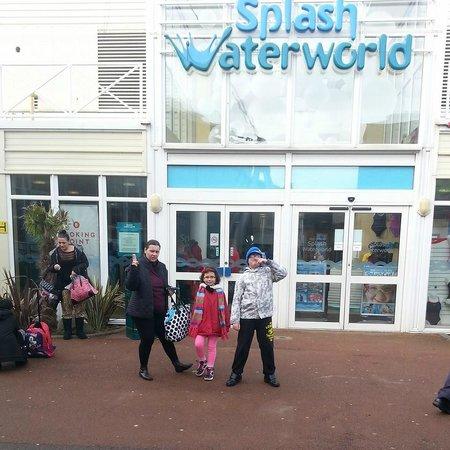 Butlin's Skegness Resort: Splash Pool entrance