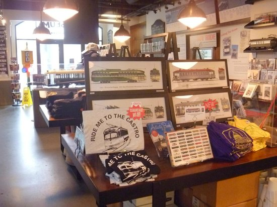 San Francisco Railway Museum: 土産物店