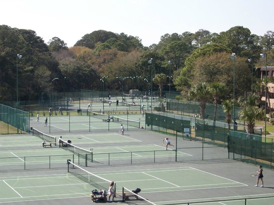 Hilton Head Island Beach & Tennis Resort : Tennis facility ranks top 50 in USA and Top 5 in the southern USA.