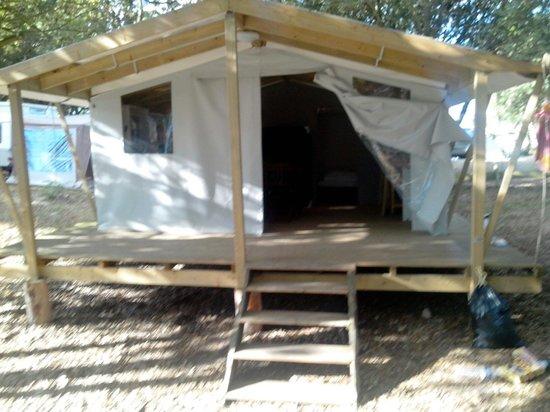 Domaine Le Midi : La tente trappeur