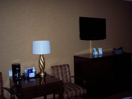Apache Gold Resort Hotel: TV area