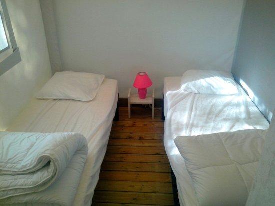 Camping Sandaya Domaine le Midi : La chambre des enfants ! Très sympa