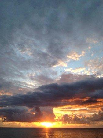 Serena Hotel Punta del Este: Por do sol
