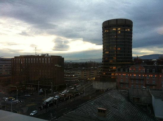 Metropol Hotel Basel: View from the restaurant
