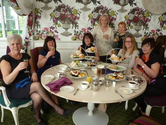 Orsett Hall: Afternoon Tea...The Garden Restaurant