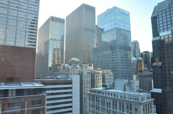 Novotel New York Times Square: vista dalla camera