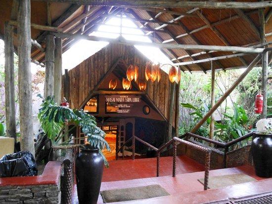 Mara Sopa Lodge: Reception