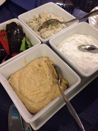 Christo's Greek Taverna: Shared starter