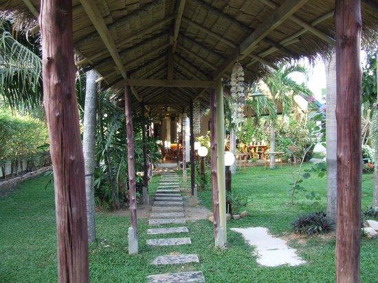 Phuket Airport Hotel: Hotel gardens