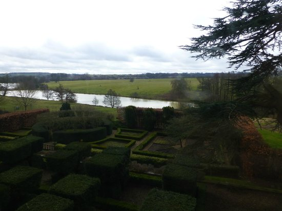 Fawsley Hall Hotel & Spa: View from Room 30