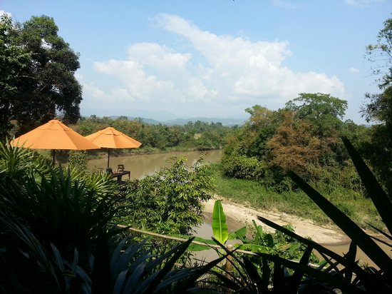 Four Seasons Tented Camp Golden Triangle: view!