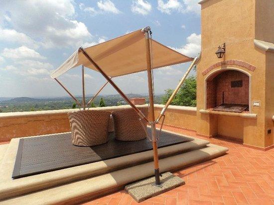 Castello di Monte : terrace
