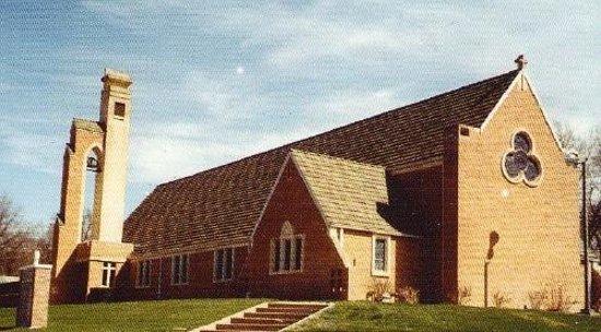 Rowdy's Steakhouse: Iglesia luterana Fairbury
