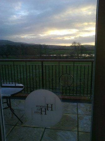 Hundith Hill Hotel: The view from our room