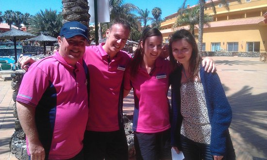 Oasis Village : Some of the entertainments team