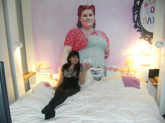 Qbic Hotel London City : Room