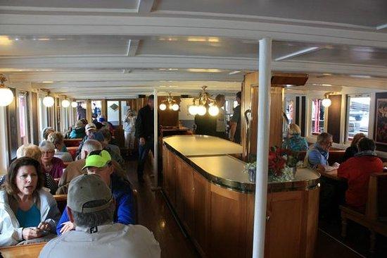 Real Journeys - TSS Earnslaw Vintage Steamship Cruises: Saloon