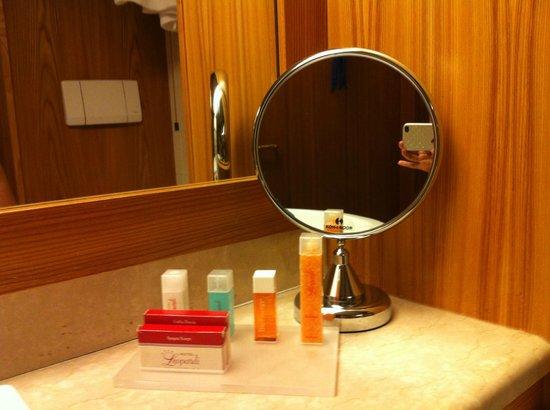 Hotel Leopardi: dettaglio bagno