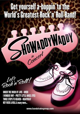 Royal Hippodrome Theatre: Showaddywaddy - 25th April 2014 - selling fast!