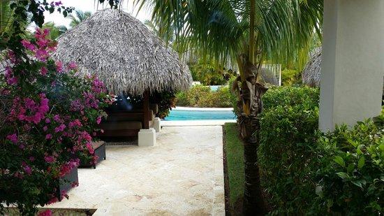 The Reserve at Paradisus Palma Real: Vista desde nuestra habitación