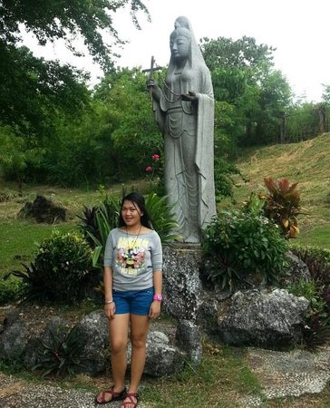 Me beside Madonna of Japan