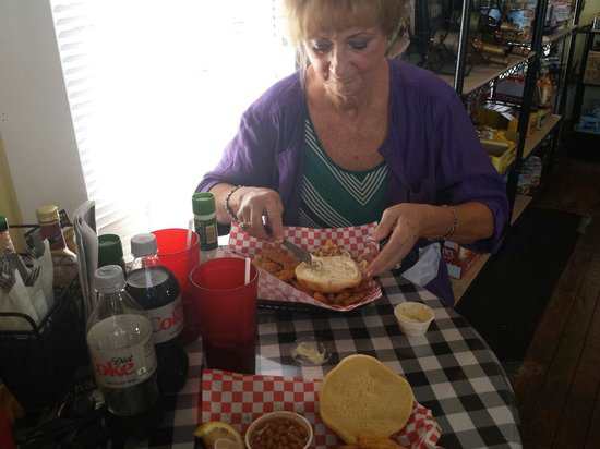 The Fish Guy : We both loved the grouper sandwich!