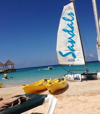 Sandals Ochi Beach Resort: Water Sports