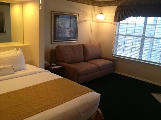 Suites at Fall Creek: Another view of the room