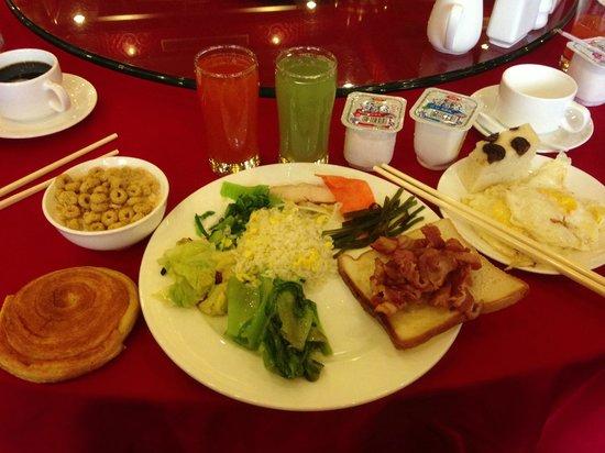 Jianguo Hotel Qianmen Beijing: Hotellfrukost