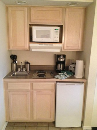 Suites at Fall Creek: The kitchenette
