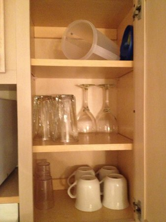 Suites at Fall Creek: Stocked cabinets