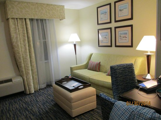 Homewood Suites by Hilton Sarasota: Comfortable couch
