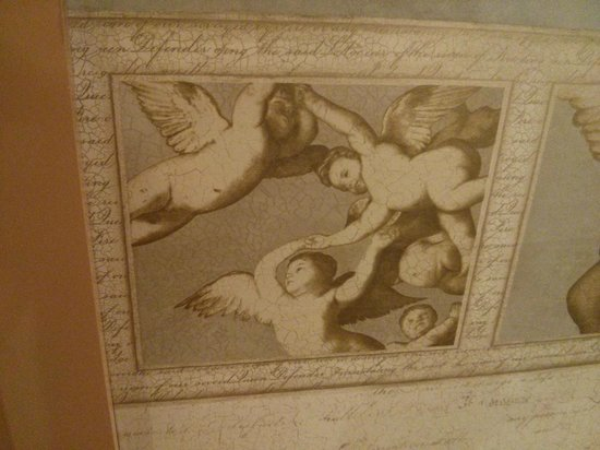 Hotel D'Este : Detail from wall decoration (room)