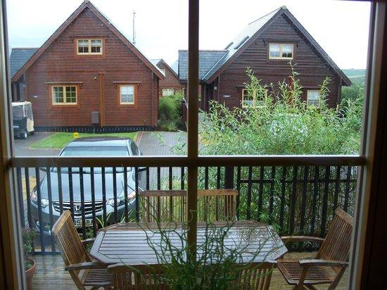 Gwel an Mor: View of sun terrace/ decking