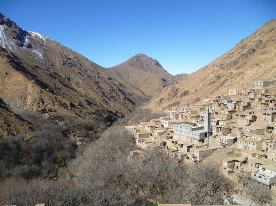 Toubkal Guide Day Tours: Berber village