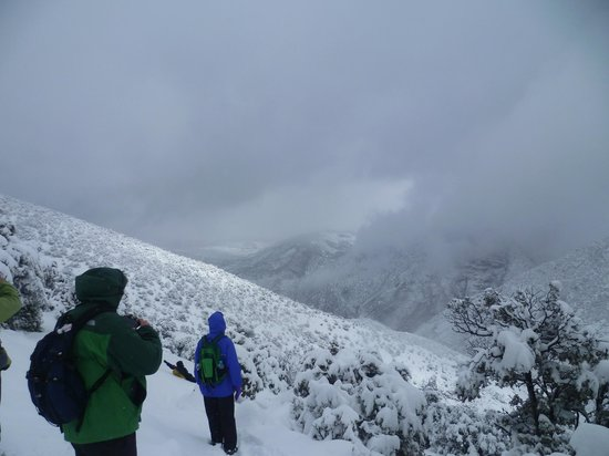 Toubkal Guide Day Tours: clouds lifting