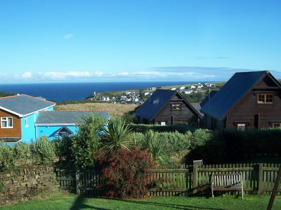 Gwel an Mor: View from indoor pool
