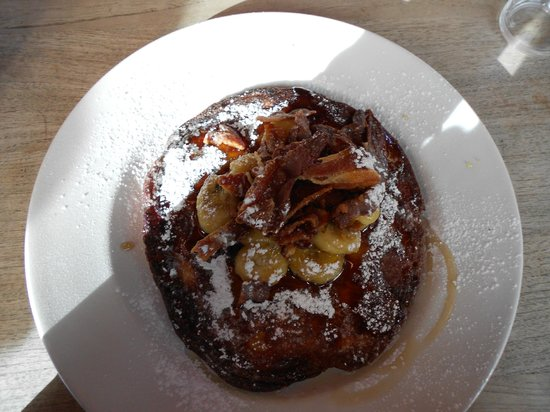 The Table Cafe: Banana and bacon pancake2
