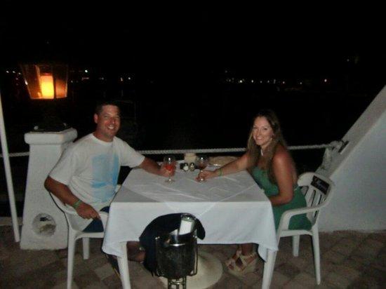 Marina Grill: Romantic meal