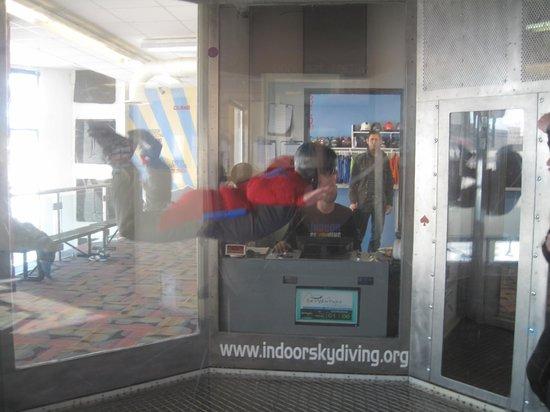 iFLY Indoor Skydiving - Denver: My turn!
