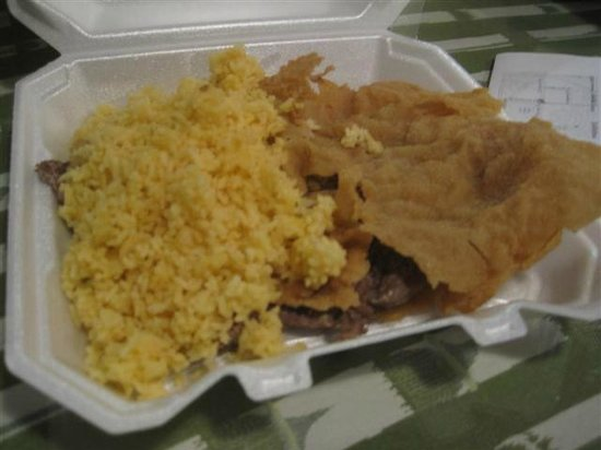 Mimita's Cuban Cafe: Steak empanizada